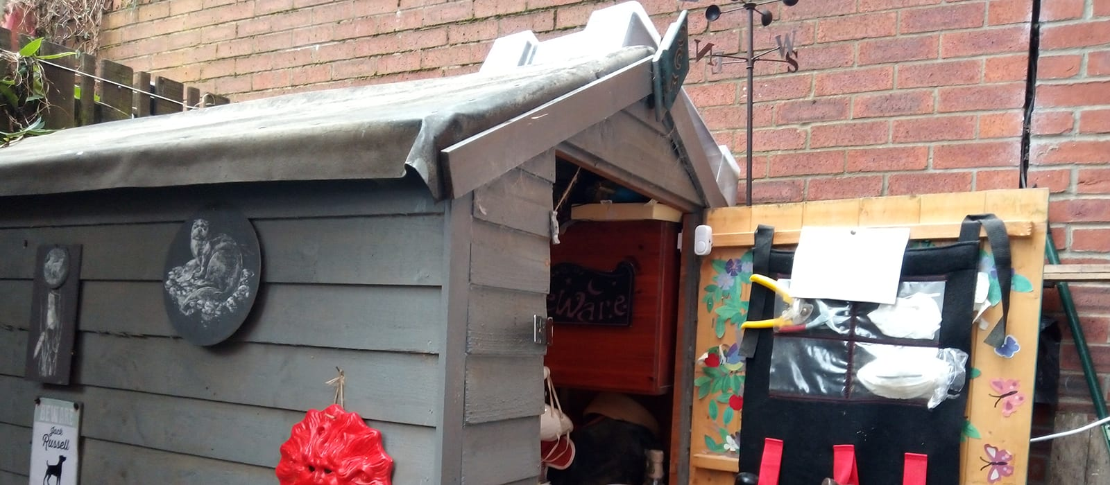 A wellbeing shed