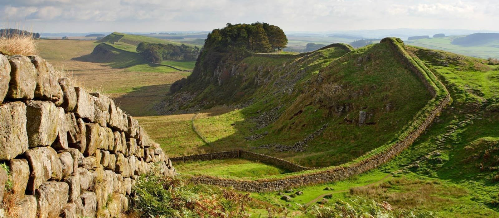 2021 challenge: Walk 13 miles of Hadrians Wall