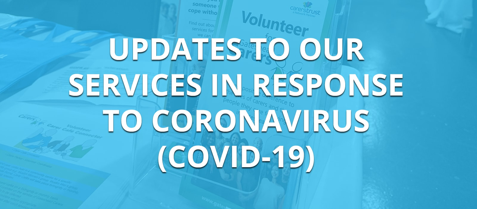 An update to our services in response to Coronavirus (COVID-19)