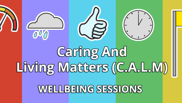 Wellbeing sessions for carers